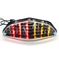 LED Brake Tail Light Integrated Motor Bike Running Turn Signals Rear Lamp For Suzuki DL 650 1000 V Strom 2003 2008