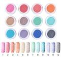 1 Box Soak Off Fur Gel Polish 5g Fur Effect 12 Colors Gel Vanish Manicure Nail Art UV Gel Polish Accessories