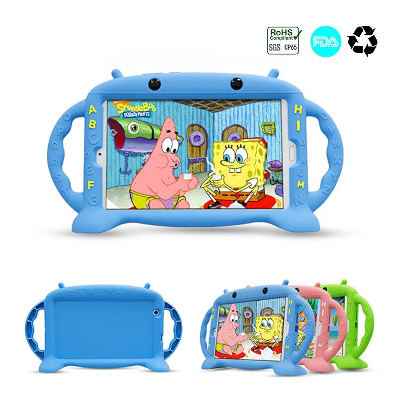 Çocuk silikon Tablet PC kasa Huawei MediaPad M3 BTV-W09 BTV-DL09 8.4 inç darbeye dayanıklı yumuşak kılıf için Huawei M3 Tablet
