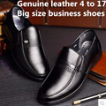 Mens Brand new Cheap Luxury Genuine leather Round toe Winter flat with man Working Business shoes summer style big sizes (7-17)
