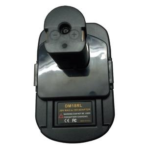 Image 4 - Adaptador de batería DM18RL para Dewalt, Milwaukee, 20V/18V, batería de ion de litio para Ryobi 18V P108 ABP1801