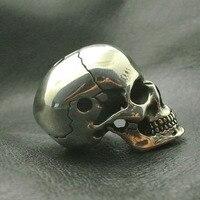 Брелок в виде черепа