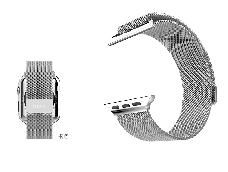 Original HOCO Milanese Loop Strap For Apple Watch 42mm 38mm Made By 316L Stainle