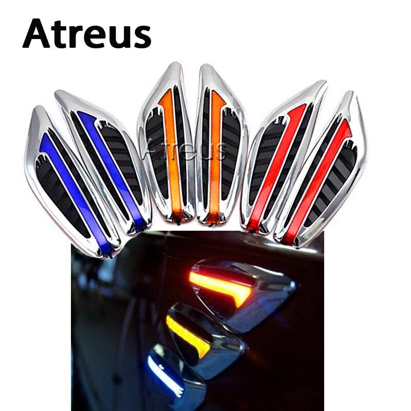 Atreus 2X Car styling Turning Signal Indicator Light Side Lamp For Mitsubishi ASX Suzuki Acura Jeep Renegade Fiat 500 Hyundai фаркоп suzuki sx4 fiat sedici 06