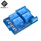 1Pcs Relay Shield V2.0 4 Channel 4-CH 5V Relay Swtich Expansion Drive Board for Arduino UNO R3 Development Board Module