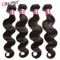 "UNice 7A Grade Brazilian Virgin Hair Body Wave 4 Bundles Deal 8""-30"" Unice Hair Brazilian Body Wave Cheap Human Hair Weave Sale"