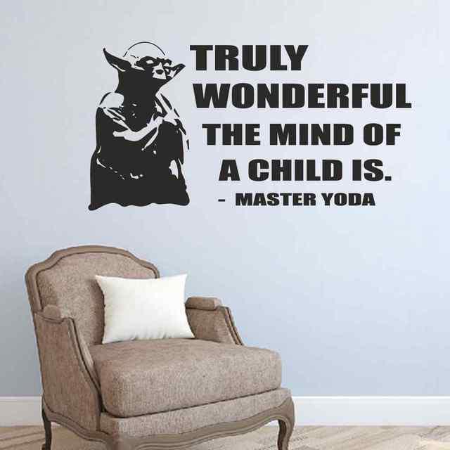 Star Wars Wall Sticker Truly Wonderful The Mind Of A Child