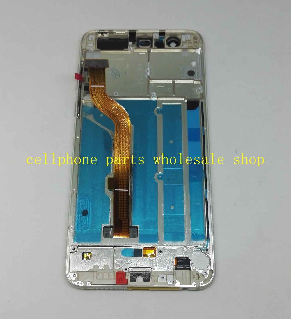 5.2 Lcd screen+Touch Glass Digitizer Frame assembly for huawei Ascend Honor 8 FRD-AL10 L09 Pantalla white /blue