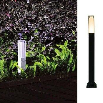 EPISTAR Marca SMD Cuadrado Led Iluminación De Jardín Al Aire Libre Luz Led Para Jardín De Aluminio Impermeable Al Aire Libre IP65 Lámpara De Camino
