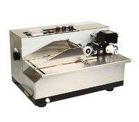 Máquina de codificación de fecha de tinta sólida de alta calidad  máquina de codificación de números de lote para bolsas de plástico  películas de plástico  etc.