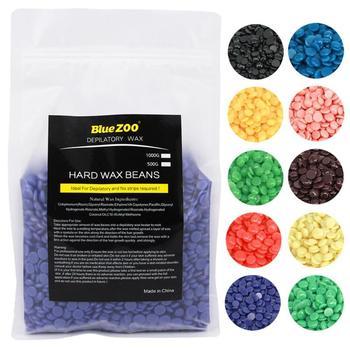 1000G Chamomile Depilatory Mutiara Hard Wax Kacang Brasil Butiran Film Panas Lilin Bead untuk Rambut Penghapusan Lilin untuk Pencabutan