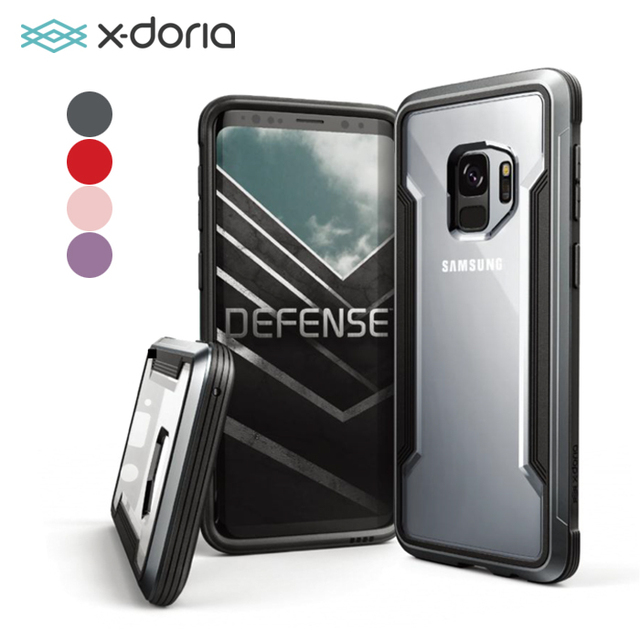new concept 6955c e660b US $22.99 |X doria Defense Shield Case for Samsung Galaxy S9 & S9 Plus  Military Grade Drop Tested, TPU & Aluminum Premium Protective Cover-in ...