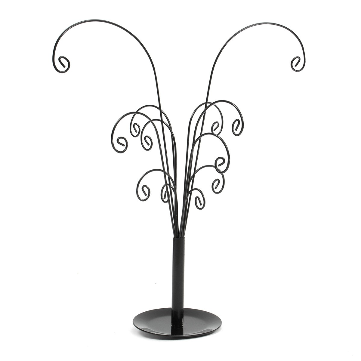 New Multifunctional Tree Branch Shape Black Color Jewelry Display