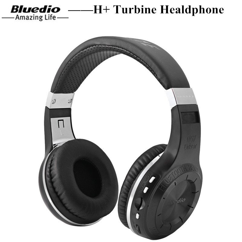 Bluedio H+ Turbine Wireless Bluetooth Headphone Gaming Headphone With Line-In SD Card Mic FM Radio Mic Bluetooth Gaming Headset