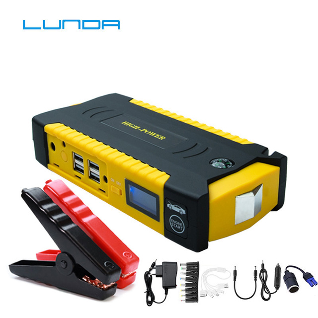 LUNDA 19B  Car jump starter Great discharge rate Diesel power bank for car Motor vehicle booster start jumper battery