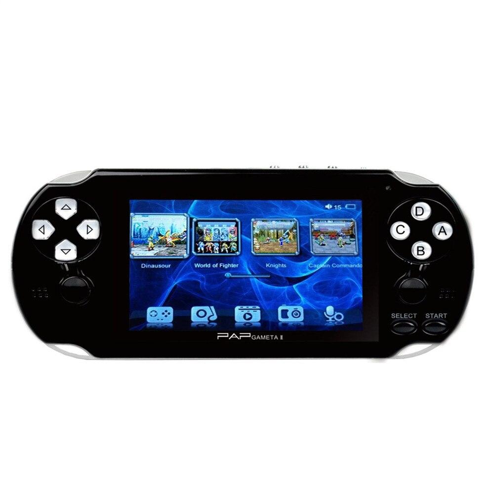 PAP GAMETA 2 PLUS 4.3 Handheld GameConsole 64 Bit Mini Video game concole Portable GamePlayer built-in 650+ classic games