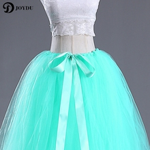 Long Tulle Ball Gown Skirt