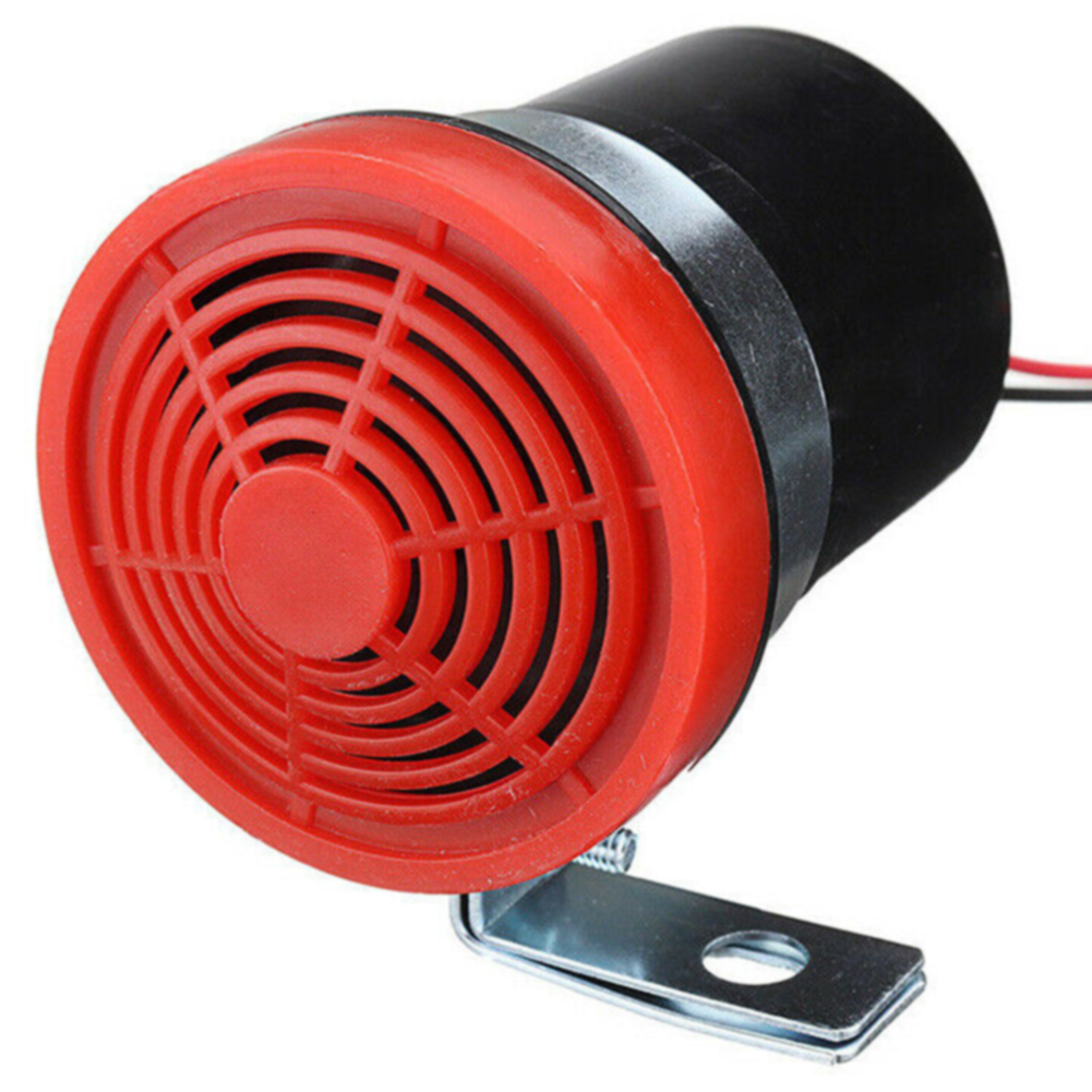 12-24V 105db Speaker Back Up Warning Beeper Horn Car Reversing Alarm Universal