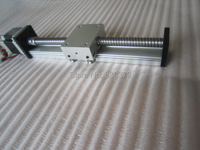 High Precision Linear Modules effective stroke 700mm Ball screw SGK 1605 linear bearing NEMA 23 stepper motor for CNC table toothed belt drive motorized stepper motor precision guide rail manufacturer guideway