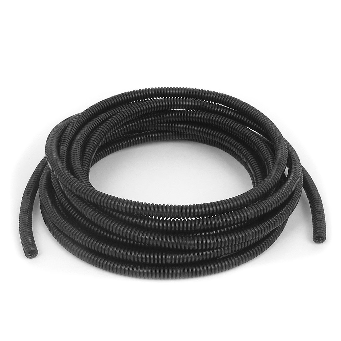 Black Spiral Conduit Split Tube Cable Tidy Wire Loom Harness 10mm ID x 13mm OD 2m Length
