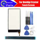 5.5 inch Umidigi Crystal Touch Screen 100% Guarantee Original Glass Panel Touch Screen Digitizer For Umi Crystal +tools+Adhesive