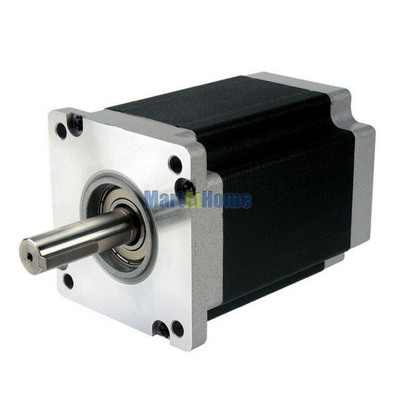 Leadshine 110HS28 CNC Stepper Motor 28 N.m (3,965 Oz-In) 6.5A 2 Phase NEMA 42 4-leads #SM686 @SD 3 phrase leadshine 573s15 step motor