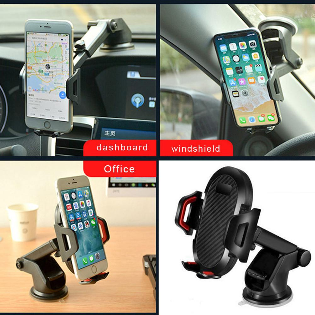 Car Phone Mount 1 6 3 5inch Dashboard Phone Bracket Washable Strong Sticky Gel Pad One Touch Compatible For IPhone Galaxy Google in Universal Car Bracket from Automobiles Motorcycles