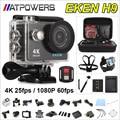 Cámara de acción deportiva Original EKEN H9/H9R remoto Ultra HD 4 K WiFi 1080 P 60fps 2.0 LCD 170D pro deporte impermeable ir cámara