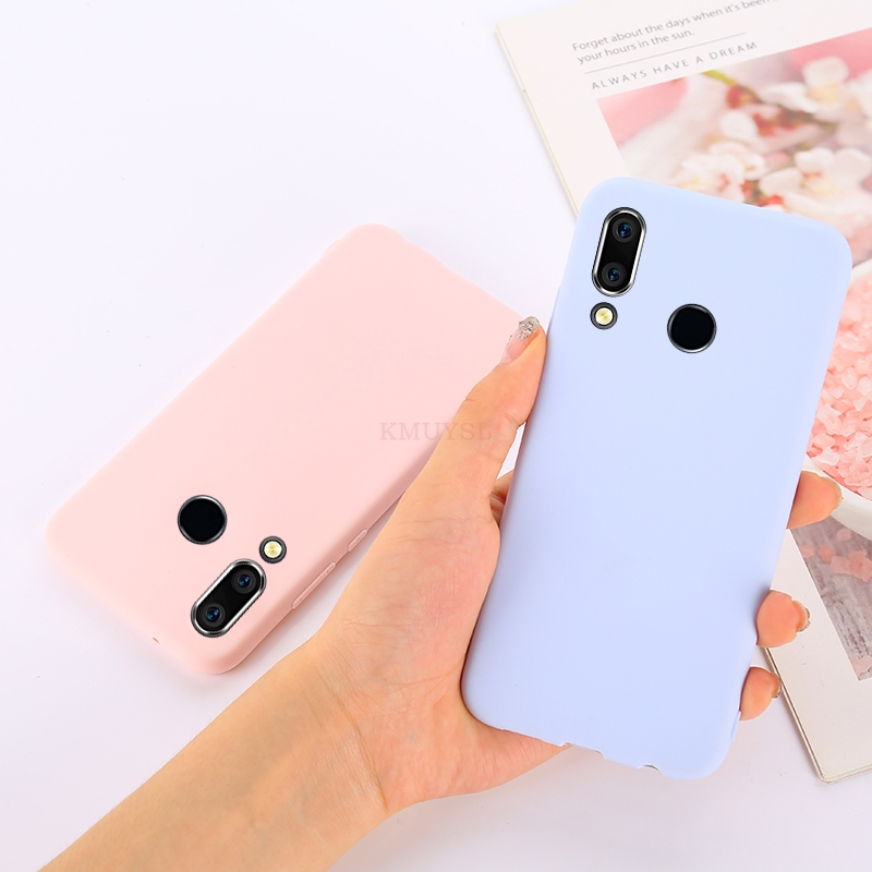 Candy Color Case For Huawei P Smart Y9 Y6 Y7 Pro Prime Y7 2019 P30 Pro P20 Lite Mate 20 Lite 20X On Honor 8X 8C 10 7A 7C Cover