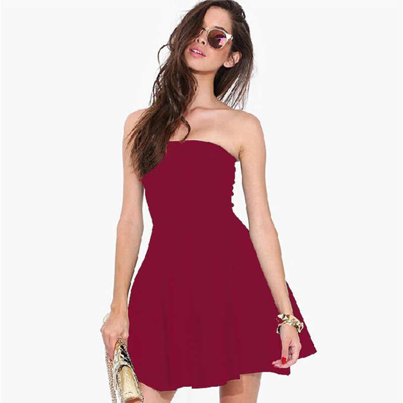 Oubinew boho الصلبة الصيف فستان المرأة 2018 الصيف فستان الشمس مثير تونك معطلة الكتف زائد حجم طول الشاطئ اللباس قميص رداء فام