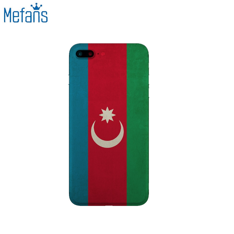 Mefans Retro Azerbaijan flag pattern for iphone 7 Plus case