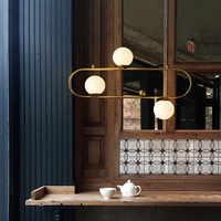 Nordique Designer Loft suspension lumière rétro industrielle géométrie créative salle à manger salon suspendus lumières café magasin Decr lumières