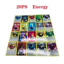 20 шт энергии 6,3*8,8 см игровая коллекция карт