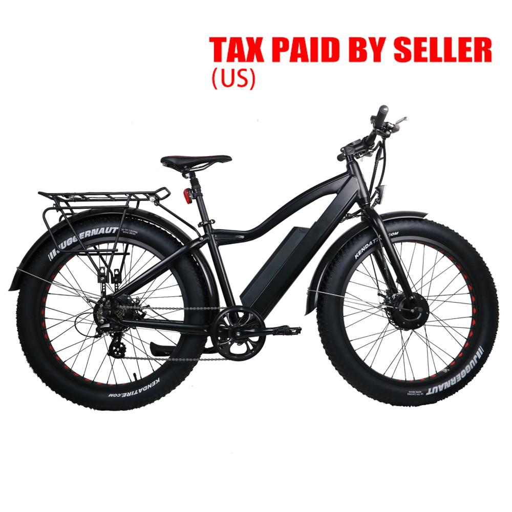 ABD KANADA DAMLA DENİZCİLİK EUNORAU AWD 48V250W + 350 W ön ve - Bisiklet Sürmek
