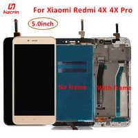 Lcd Display Für Xiaomi Redmi 4X Lcd Screen Display + Touch Screen Mit Rahmen Ersatz für Redmi 4X 4 X pro Lcd Screen