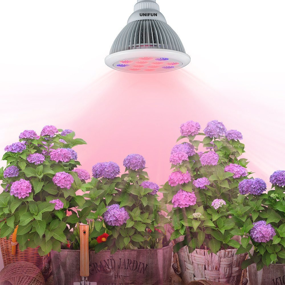 3W 4W 5W Plant LED Grow Light GU10 Spotlighting Lamp Hydroponic LED Bulb Garden Lighting ...