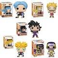 FUNKO POP Dragon Ball супер игрушка экшн анимация #313 Future Trunks #47 FRIEZA популярная коллекция кукол подарки для мальчиков на день рождения