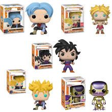 FUNKO POP Dragon Ball Super Toy Action Animation #313 Future Trunks #47 FRIEZA Popular Doll Collection Gifts for Boys Birthday