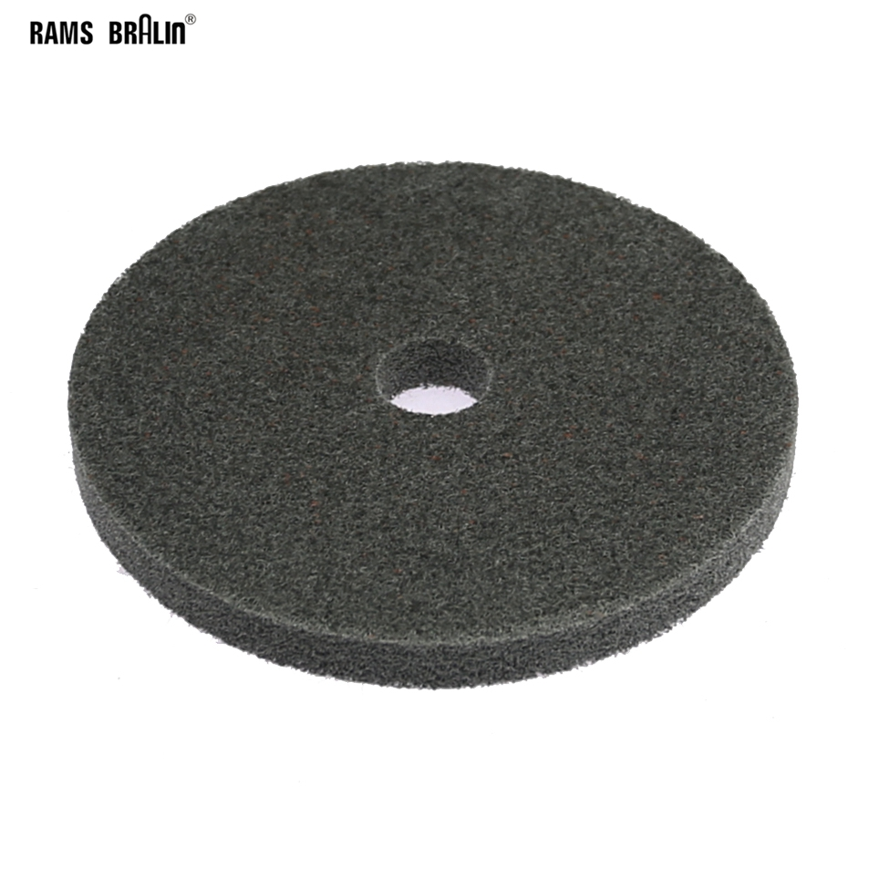 1 Piece 125*12mm Nylon Abrasive Wheel 7P P180 Used On Bench Grinder Angle Grinder  For Metal Surface Finishing