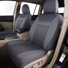 Polyester Full Car Seat Cover Set Universal Fit CarSeat Cover Interior Accessories Protector Color Gray Car-Styling dewtreetali universal automoblies seat cover four seaons car seat protector full set car accessories car styling for vw bmw audi