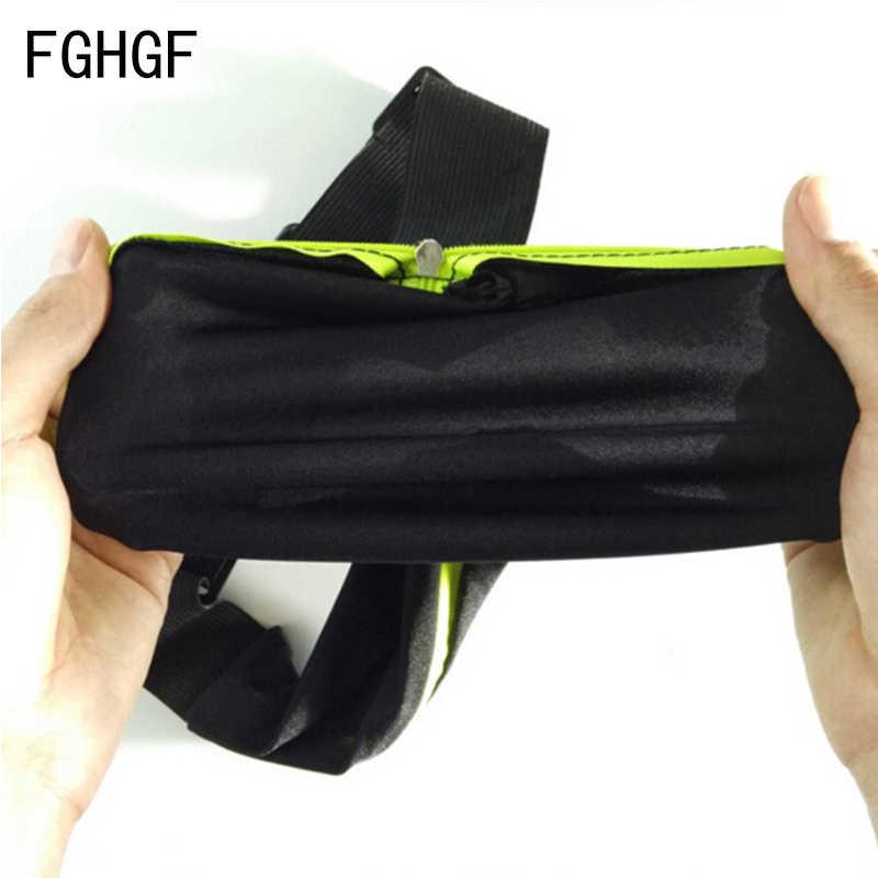 Bolso duplo saco Da Cintura Jogging Correndo Saco Da Cintura Cinto Saco Portátil Ao Ar Livre da Aptidão Pacote Engraçado Para As Mulheres Homens de Grande Capacidade