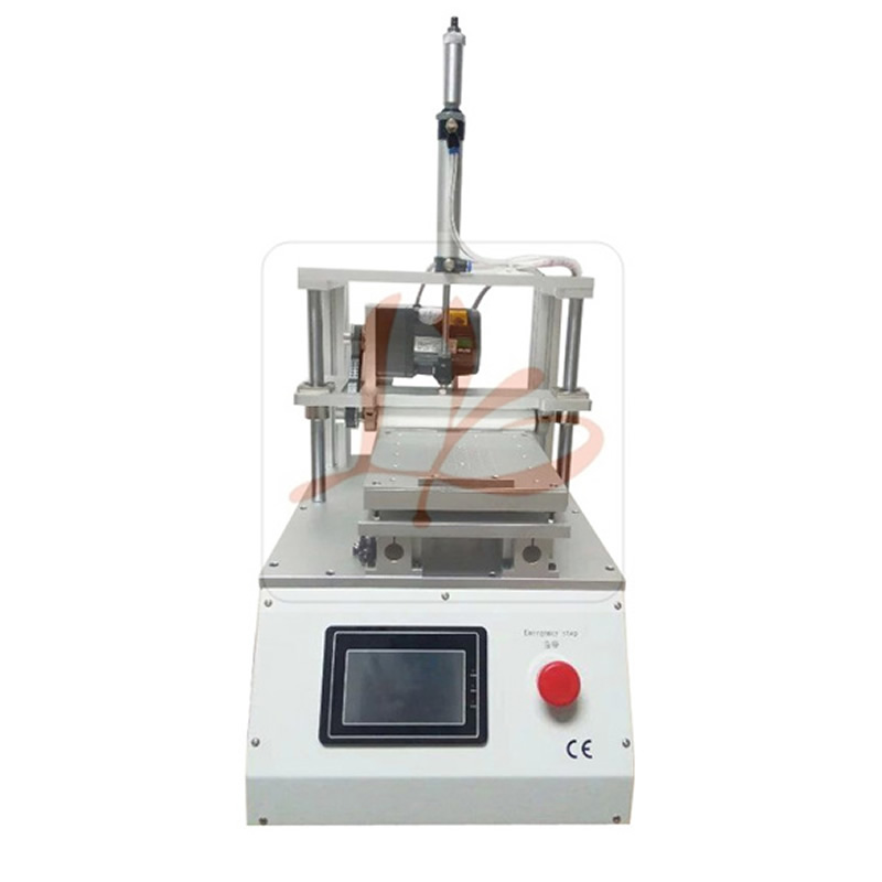LY 901 V.2 Built-in vacuum pump automatic Touch screen oca glue removing machine for mobile phone lcd screen refurbishment professional ly 948v 2 semi automatic lcd separator machine oca screen separating machine with built in vaccum pump