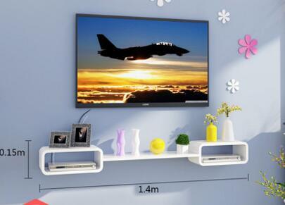 Купить с кэшбэком TV ark set-top box shelf hanging.