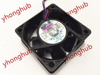 Emacro For MECHATRONICS F6025E24B RS DC 24V 0.125A 60x60x25mm 2-wire Server Square Fan