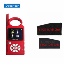 CBAY Handheld Auto Chip Key Programmer V7.0 for 4C/4D/46/48 Chips Handy Baby CBAY Chip Programmer Get 5 PC 4C/4D/D46 ID46 Chip