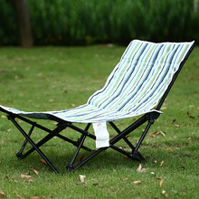 Lounge-Chair Telescopic Bed-Beach Recliner Folding Outdoor Portable with Backrest Simple