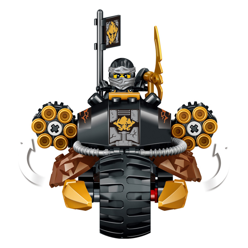 228pcs-Model-Building-Blocks-toys-Interstellar-ninjago-The-Enemy-s-Armed-Vehicles-Compatible-legoINGLYS-Ninjago-Toy (3)