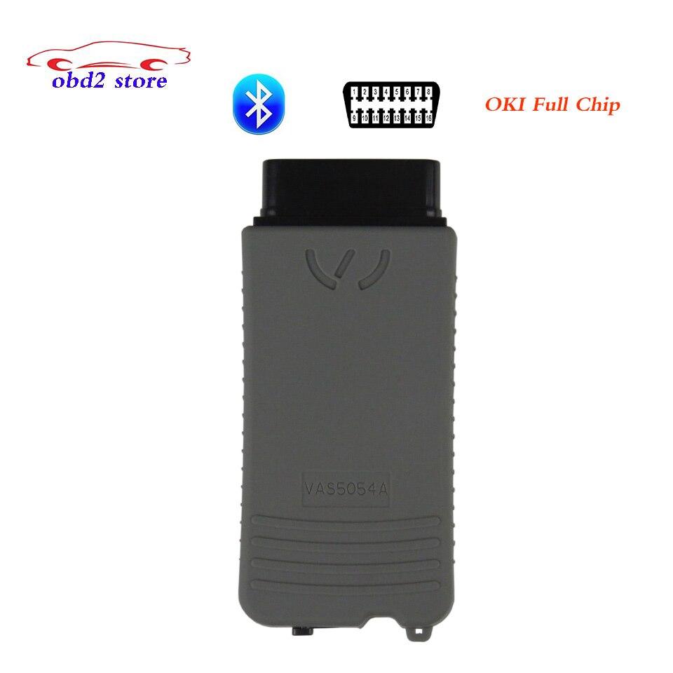OBD2 VAS5054A OKI VAS 5054A ODIS V4.2.3 автомобиля диагностический сканер VAS5054 полный чип Поддержка UDS протоколы инструмент диагностики 5 шт.