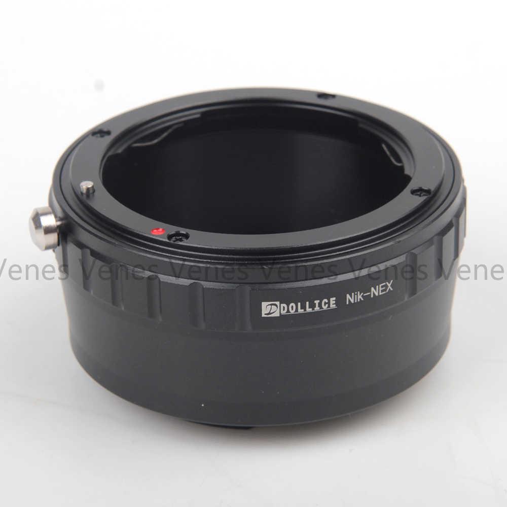 AI G-NEX Dollice Lens Adapter Suit for Nikon F Mount G Lens to Sony E Mount NEX Camera NEX-VG900 NEX-VG30 NEX-EA50 FS700 NEX-VG10