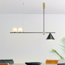 Nordic LED Chandeliers Pendants Modern Lamp Living Room Restaurant Pendant Lamps Designer Iron Hanging Lights Fixtures